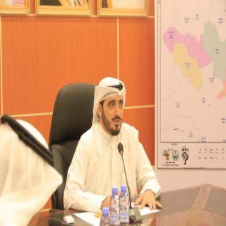 البناوي يرأس اجتماع المجلس البلدي والمحلي ببارق