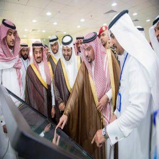 أمير القصيم يدشن مشاريع تنموية في الأسياح بقيمة 194 مليون ريال