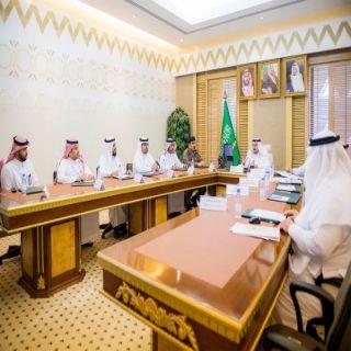 أمير القصيم يرأس اجتماع اللجنة التنفيذية لبرنامج التوطين بالمنطقة