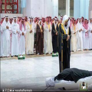 صلاة الجنازة على الأميرة الجوهرة بنت عبدالعزيز في المسجد الحرام