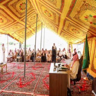 تركي بن طلال يحث نواب ومشائخ القبائل في عسير على التكامل مع أجهزة الدولة