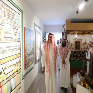 مدير #جامعة_الملك_خالد يفتتح مهرجانها التراثي