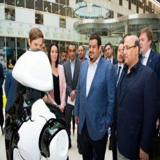 أمير الرياض بالنيابة يقف على على مشروعات البنى التحتية للنقل العام والمدن الذكية في موسكو