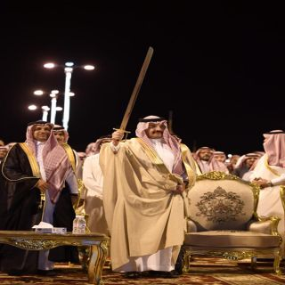 تركي بن طلال يرعى حفل ليالي محافظة #ظهران_الجنوب