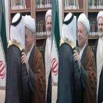 """ردود افعال تُطالب بإقالة """"الشهري"""" بعد تقبيل رأس رفسنجاني"""