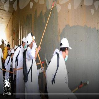 """الأمير تركي بن طلال يطلق شارة بدء الأعمال الميدانية لمبادرة """"عسير كذا أجمل"""