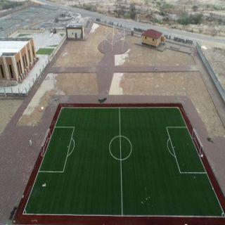 """بلدية #بارق تعمل على إنجاز """"5"""" ملاعب رياضية في ثلوث المنظر وربيعة وسيالة"""