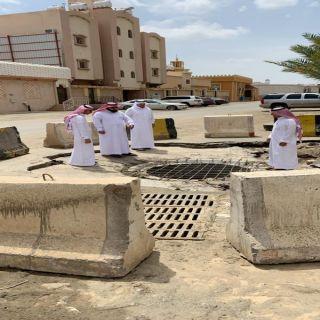 لجنة مشكلة من أمين عسير تباشر أعمالها بحي الموسى