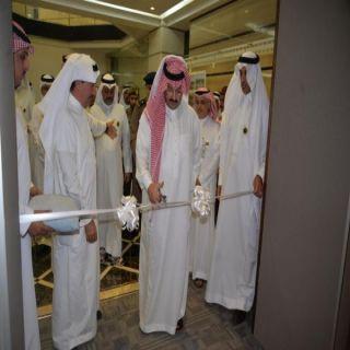 تركي بن طلال يفتتح مركز رجال و سيدات الاعمال و المستثمرين بأمانة عسير