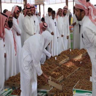 موسم  تمور #البكيرية يشهد إقبالاً من المزارعين والمتسوقين