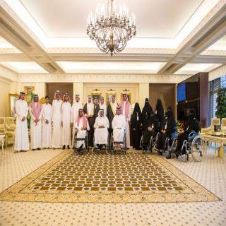 أمير القصيم يستقبل المجلس الاستشاري للأشخاص ذوي الإعاقة بالمنطقة