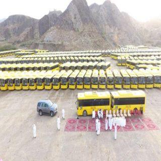#تعليم_محايل يستعد للعام الدراسي الجديد بـ900 حافلة مدرسية