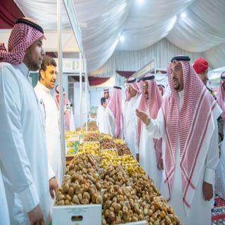 أمير منطقة القصيم يزور مهرجان تمور بريدة 40