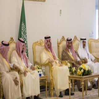 سمو أمير #الجوف يستهل زيارته لمُحافظة #طبرجل بلقاء رؤساء المراكز ويستقبل المواطنين