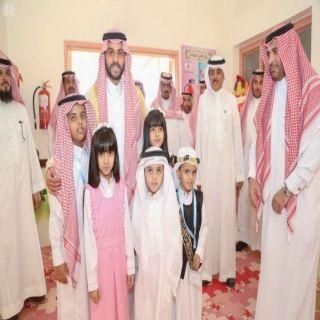 نائب أمير منطقة حائل يدشن فصول الطفولة المبكرة بـ #تعليم_حائل