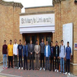 طلاب وطالبات كلية علوم الحاسب الآلي بجامعة الملك خالد ينهون برنامج التدريب الصيفي  في جامعة Warwick البريطانية