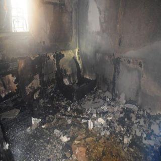وفاة 7 وإصابة 2 في حريق منزل بحي الجرادية وسط الرياض