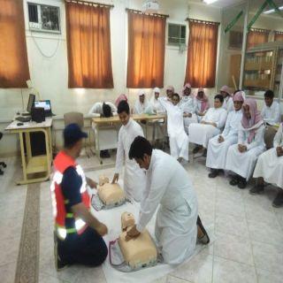 هلال #بارق وهلال #المجاردة يُقيمان دورة تدريبية بعدد من مدارس #بارق