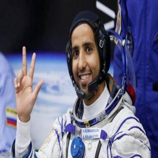 التحام المركبة التي تقل المنصوري بمحطة الفضاء الدولية