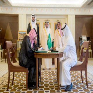 الأمير فيصل بن مشعل يشهد توقيع اتفاقيةتعاون بين إمارة القصيم ومركز أداء