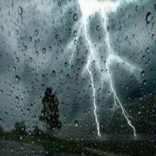 طقس اليوم الأحد:إستمرار هطول الأمطار على  نجران، جازان، عسير. الباحة