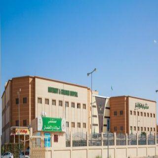 مستشفى الولادة والأطفال بحفرالباطن ينقذ طفل من التهاب السحايا