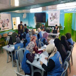 مركز الملك سلمان للإغاثة يستهدف اكثر من 30 الف طالب سوري في الاردن بالحقائب المدرسية