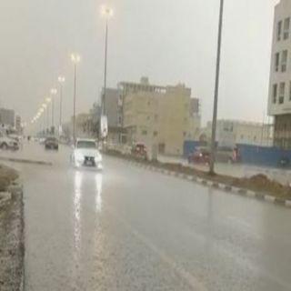 طقس اليوم أمطار رعدية على 6 مناطق