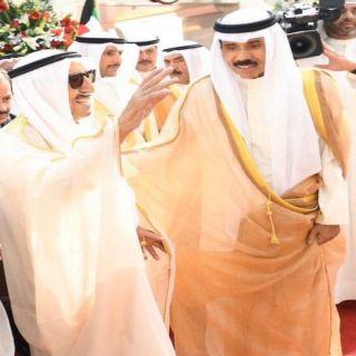 عودة أمير #الكويت بعد إجراء فحوص طبية في أمريكا