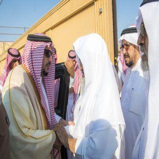 سمو أمير القصيم يعزي ذوي أسرة المقبل في وفاة وكيل امارة منطقتي القصيم وحائل سابقاً