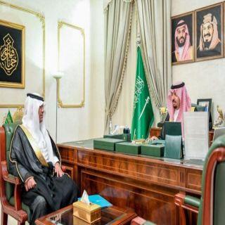 سمو أمير #الشمالية يستقبل مدير مكتب وكالة الأنباء السعودية بالمنطقة