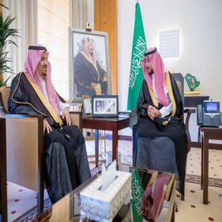 الأمير فهد بن تركي يستقبل مدير #جامعة_القصيم