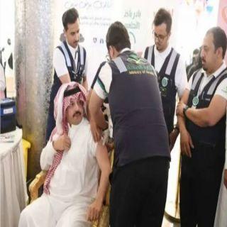 أمير عسير يدشِّن الحملة الوطنية للتوعية من سرطان الثدي والتطعيم ضد الأنفلونزا
