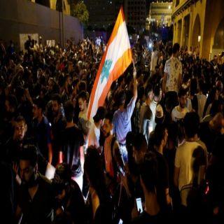 الإحتجاجات في #لبنان تدخل يومها الثامن .. وترقب لكلمة عون