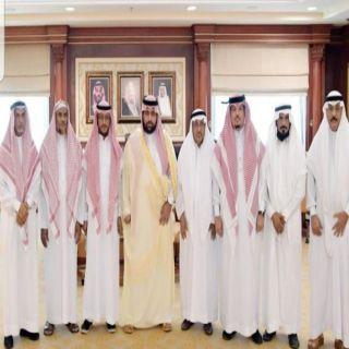 سمو نائب أمير #جازان يستقبل مدير وأعضاء فرع الجمعية السعودية للفنون التشكيلية بالمنطقة..*