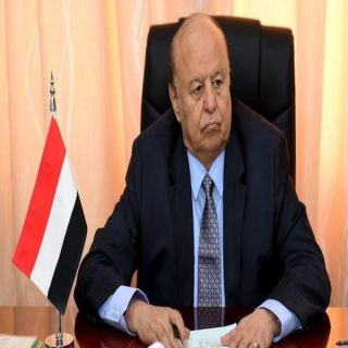 الرئيس هادي يُشيد بدور #المملكة في تحقيق الأمن والإستقرار في #اليمن
