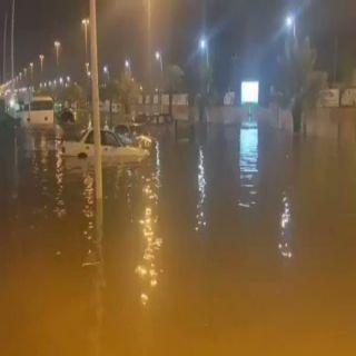 وفاة 7 وإصابة 11 وإخلاء 16 شخصاً حصيلة أمطار #حفر_الباطن