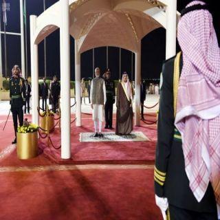 رئيس وزراء الهند يصل الرياض