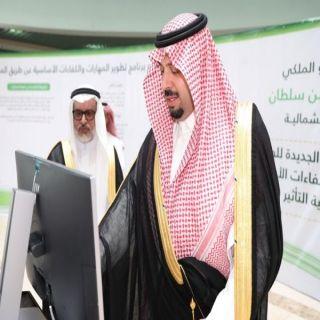 سمو الأمير فيصل بن خالد بن سلطان يطلق مشروع الخطة الاستراتيجية لجامعة الحدود الشمالية