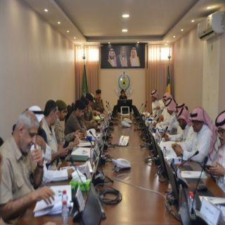 العميد الدكتور أبو عباة يترأس إجتماع  اللجنة الفورية لمدني #القصيم