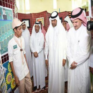 مدير #تعليم_مكة يُدشن معرض التوعية بأضرار المخدرات والتدخين والألعاب الإلكترونية