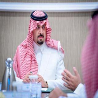 سمو أمير #الشمالية يجتمع بمدير المشاريع بمؤسسة الملك خالد الخيرية