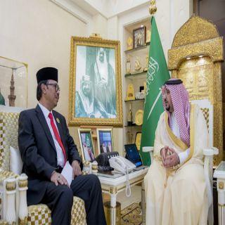 الأمير فيصل بن مشعل يلتقي سفير جمهورية #اندونيسيا لدى #المملكة