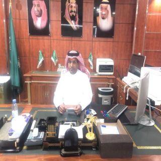 المهندس محمد آل مبشر يباشر مهام عمله رئيساً لبلدية #بارق