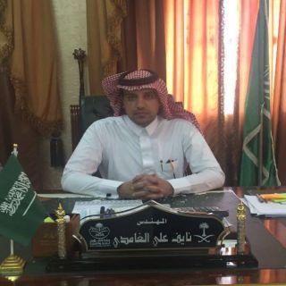 """المُهندس """"الغامدي"""" يُباشر مهام عمله رئيساً لبلدية بحر أبو سكينة"""