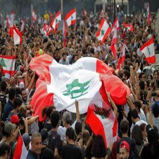 المحتجون يتحدون البرلمان وسط إنتشار أمني مُكثف في #بيروت
