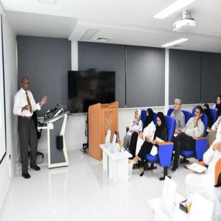ورشة عمل لتدريب الأطباء لإكتشاف المصابين بإضطرابات النمو و السلوك بـ #صحة_جدة