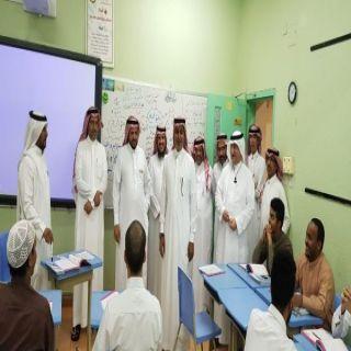 ضمن الزيارات التبادلية مدير#تعليم_الشمالية يزور #تعليم_مكة