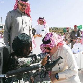 تركي بن طلال المملكة تقدر روادها الأبطال