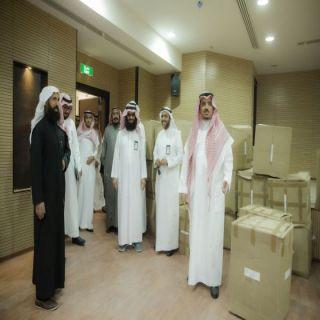 معالي مدير #جامعة_القصيم يتفقد مقر مبنى المستشفى البيطري التعليمي
